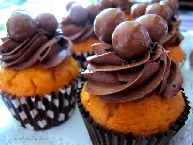 image of chocolate cupcakes with Maltesers