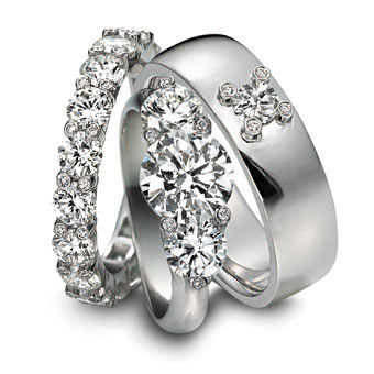 1001 Fashion Trends Trend Platinum Wedding Rings Collection