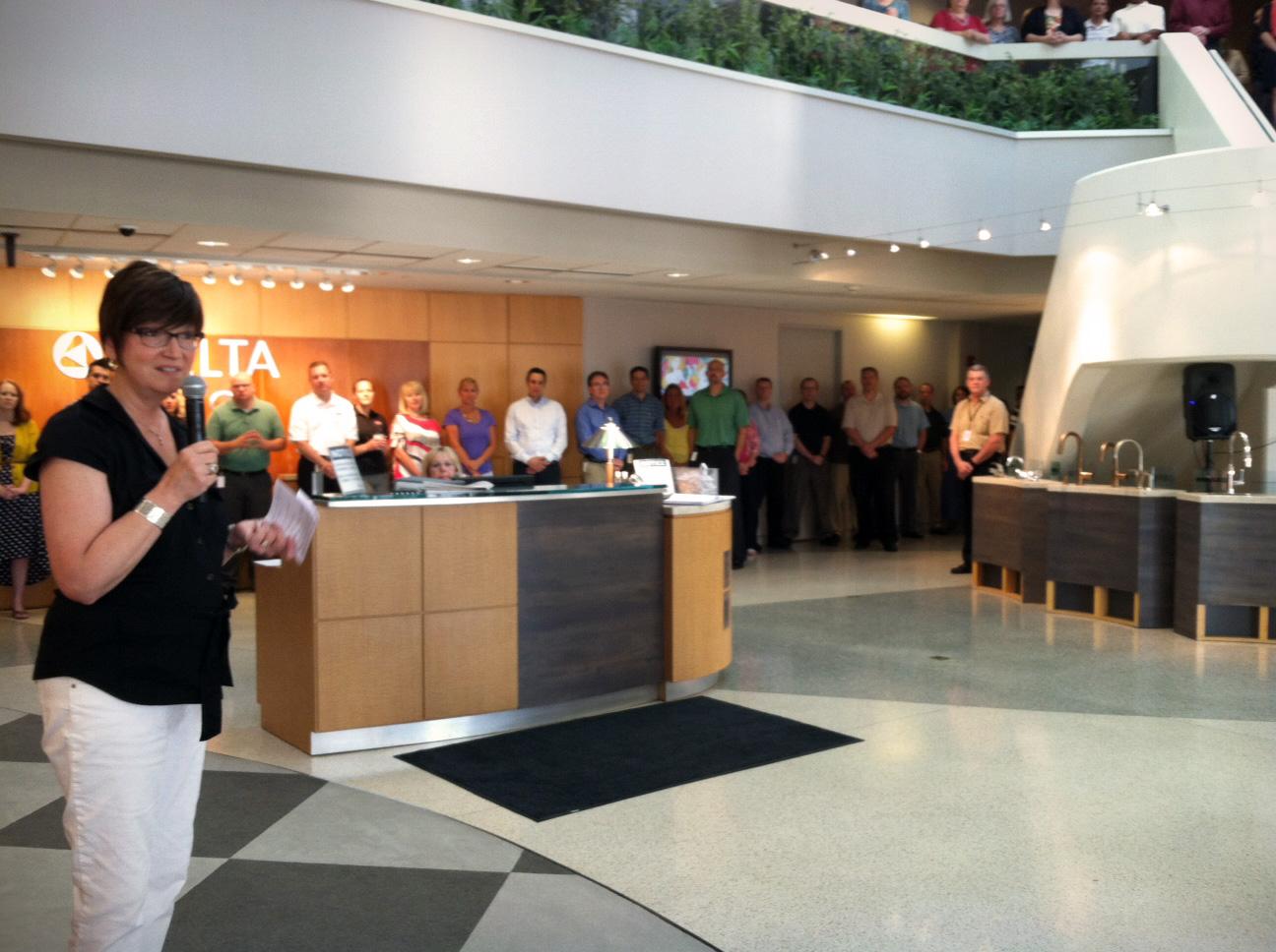 Delta Faucet Blogger Event 2012