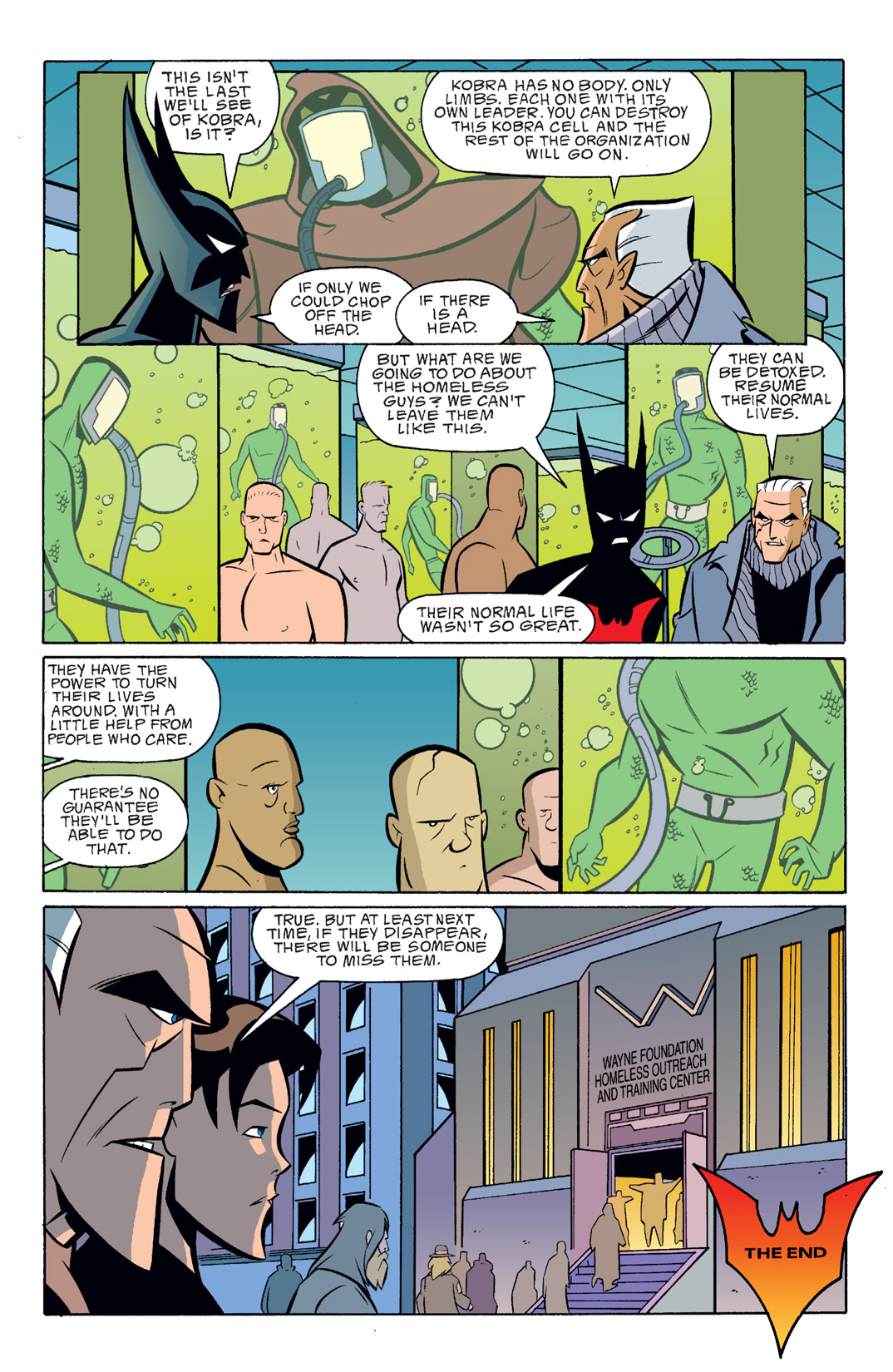 Batman Beyond [II] Issue #16 #16 - English 23