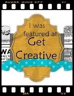 GET CREATIVE  - September 2012 - cards X 2!!