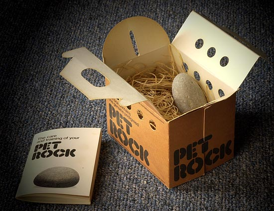 what are pet rocks No messes no allergies no effort just pure, simple solidarity dahl's pet rock  was a key innovation of the 1970s, tongue-in-cheek humor for a.