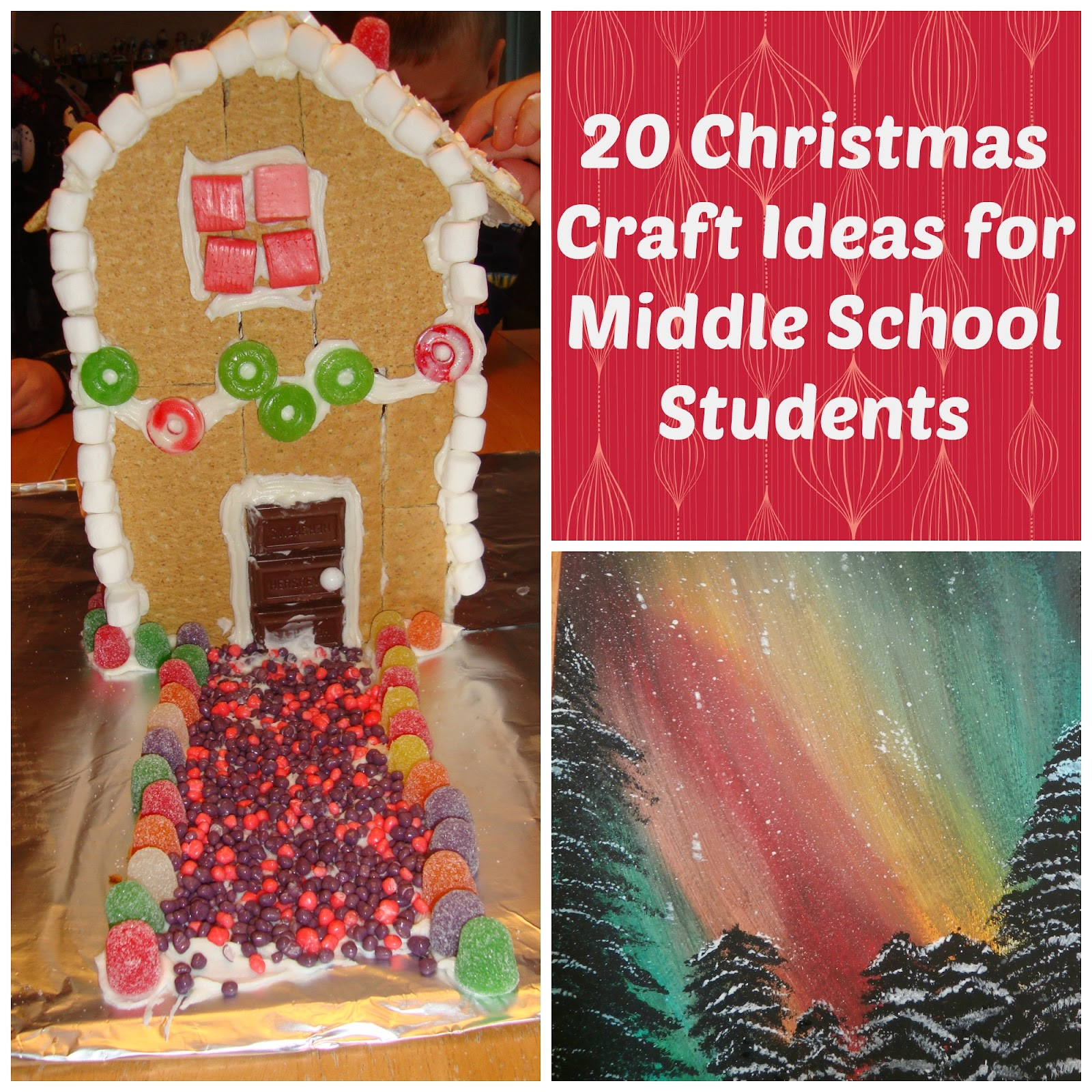 Lovely Christmas Craft Ideas For Schools Part - 9: Christmas Crafts For Middle School Students