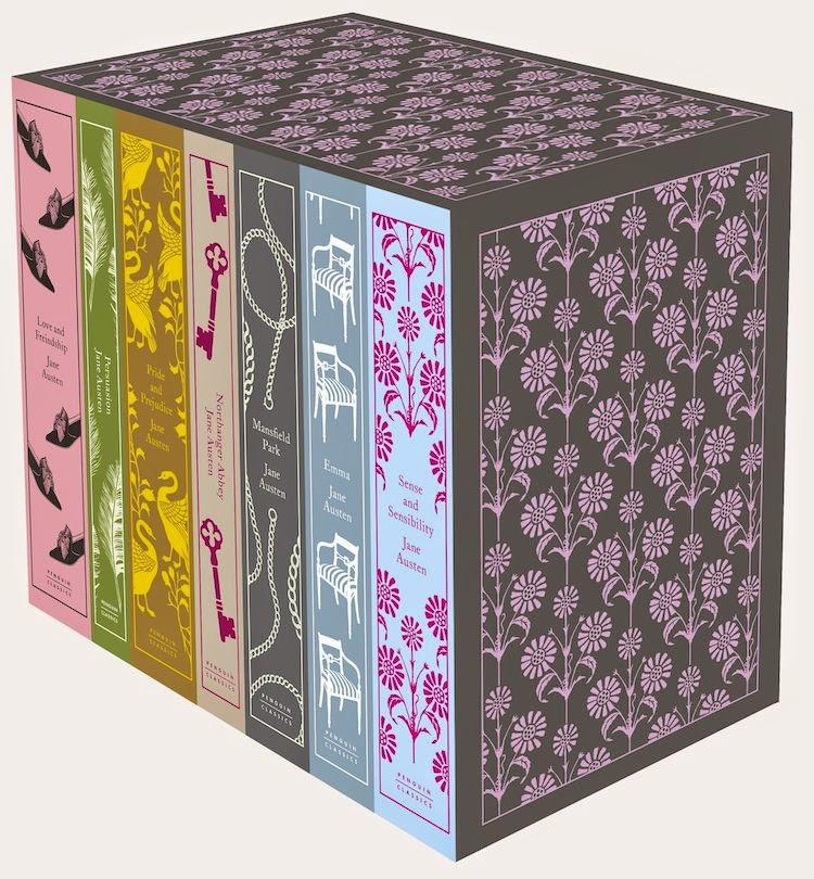 The Frivolous Bibliophile Jane Austen Complete Works