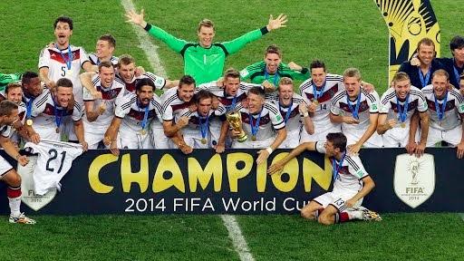 Keputusan Perlawanan Akhir Piala Dunia 2014