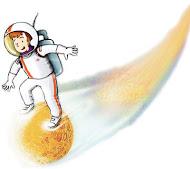 criança na ficção científica