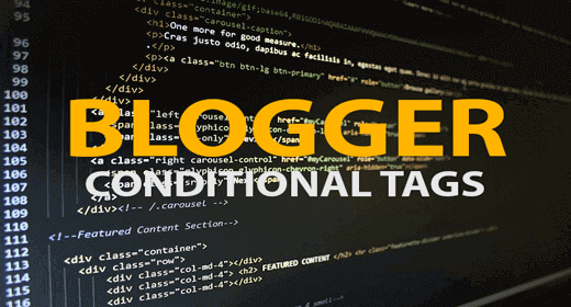 HTML with Conditional Tags