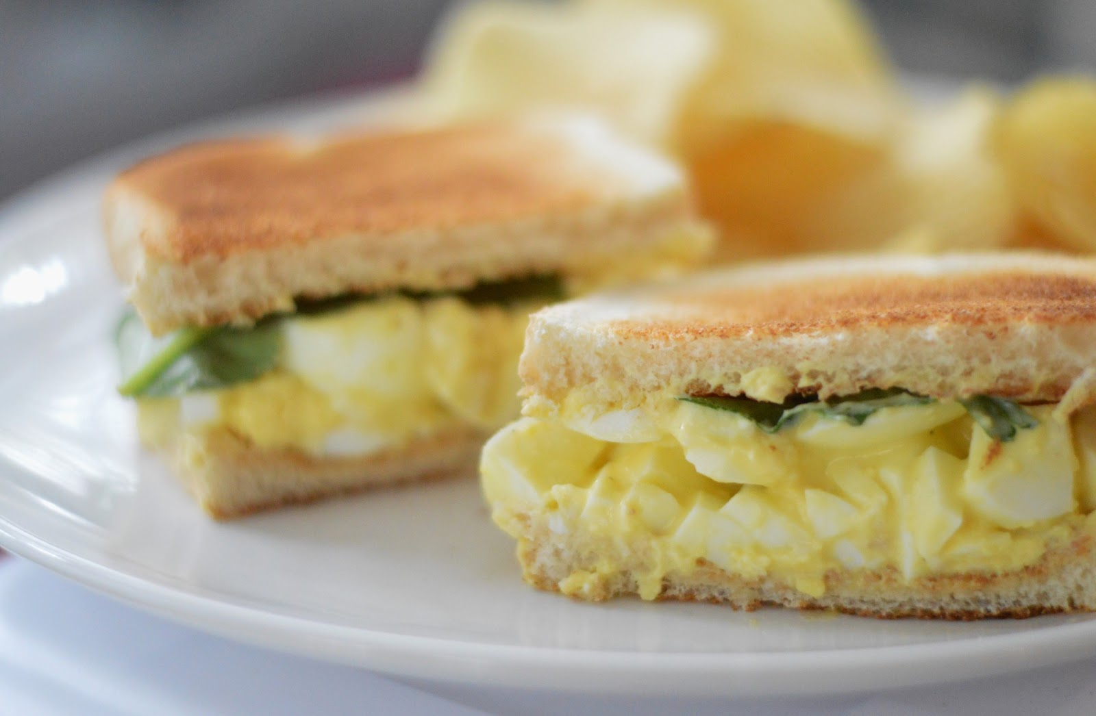 The Art of Comfort Baking: Easy Peasy Egg Salad