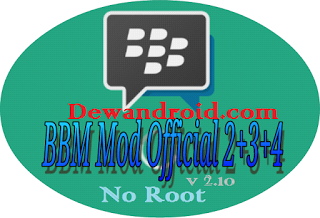 BBM Mod Clone 2.9.0.51 Apk Free Sticker [Mini Size]