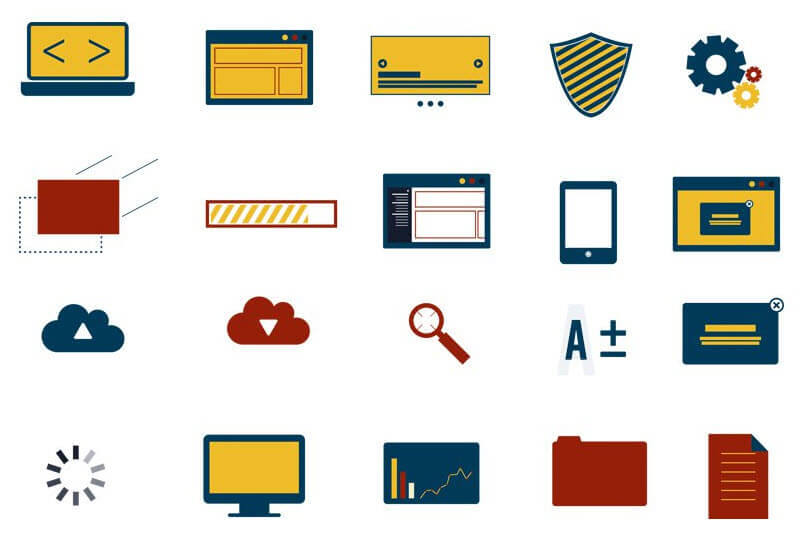 Free Web Design Icons (AI, PNG, SVG)
