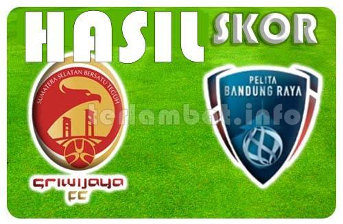 Sriwijaya VS Pelita Bandung Raya ISL 2013