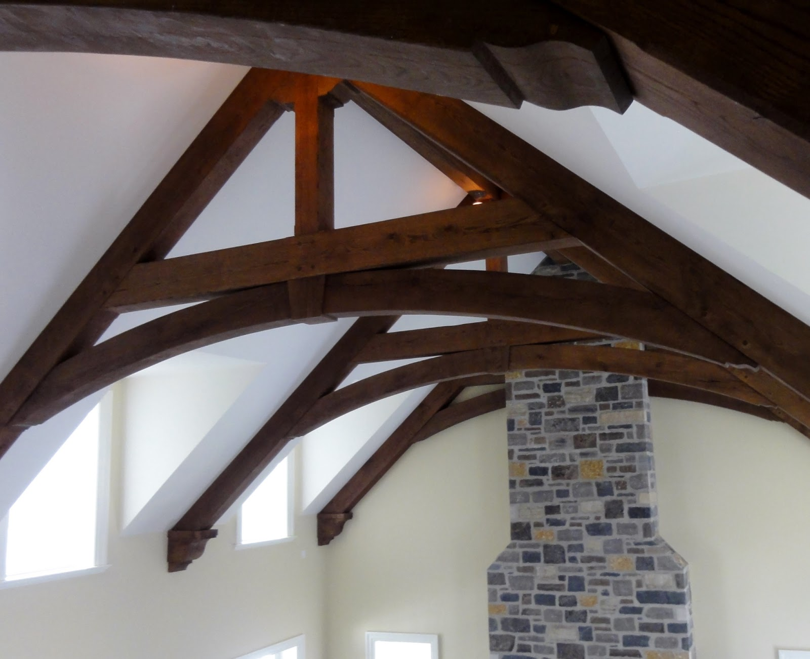 Timber Frame Design: Pavilion Oak Timber Truss