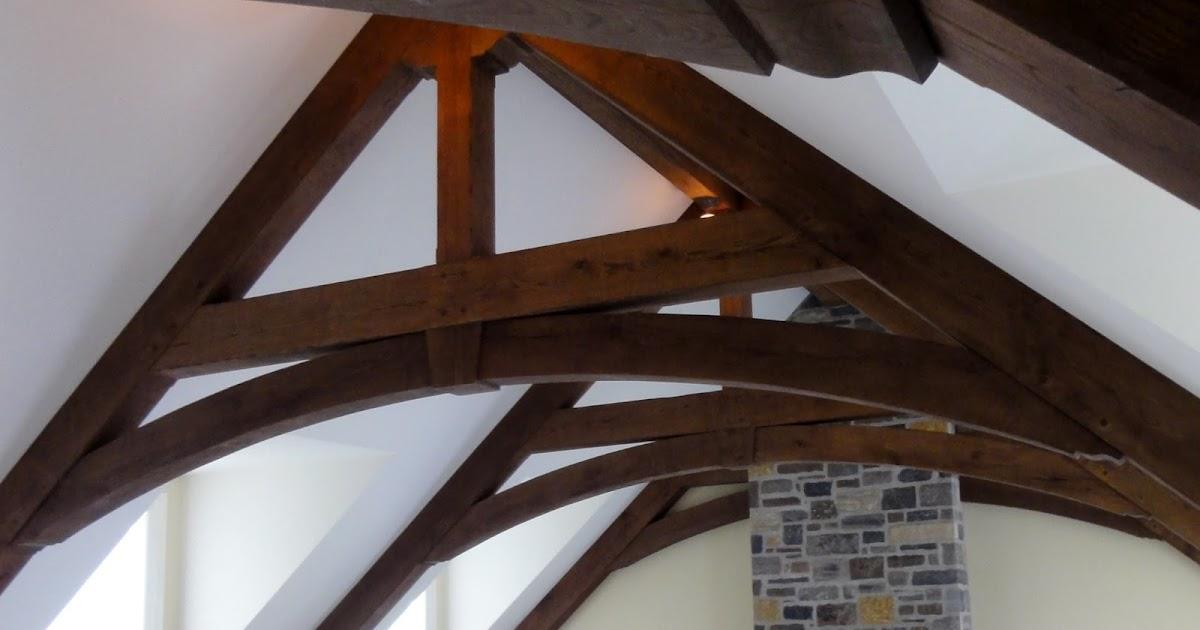 Make The Cut >> Timber Frame Design: Pavilion Oak Timber Truss