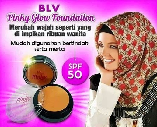 BLV Pinky Glow Foundation
