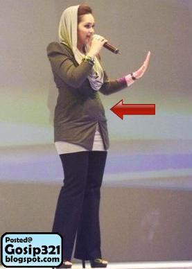 Siti Nurhaliza Mengandung