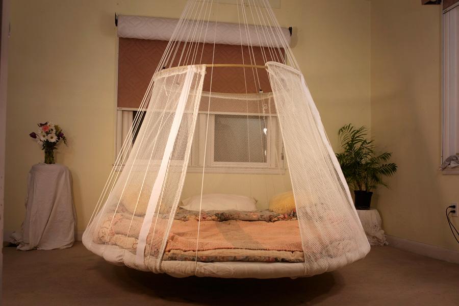 Кровать двуспальная подвесная своими руками