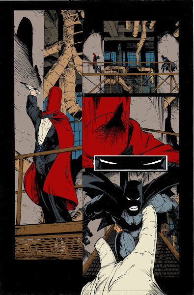 Simple Colorist's Art Blog: Greg Capullo Sequential WIP #1
