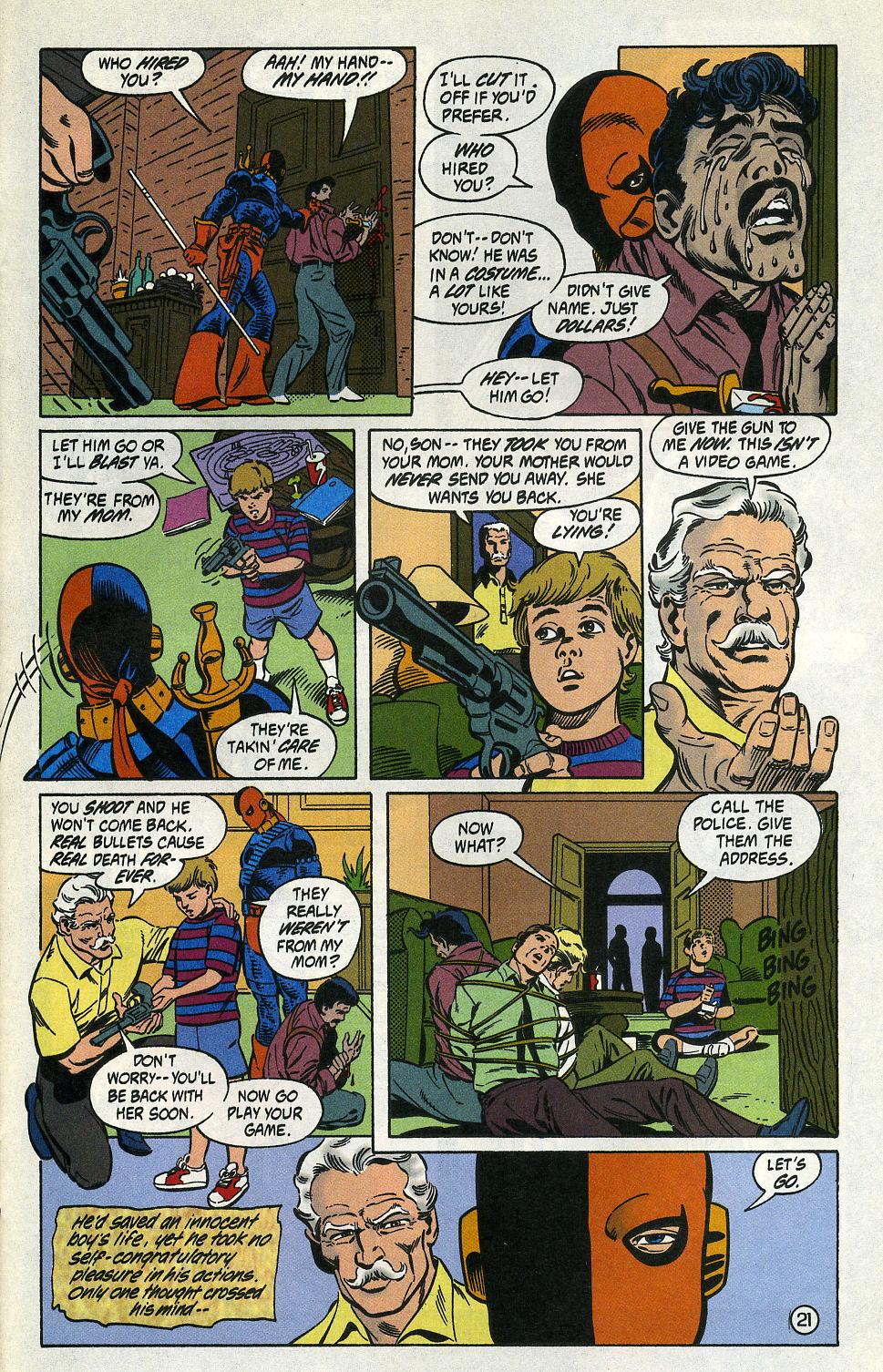 Deathstroke (1991) Issue #2 #7 - English 27