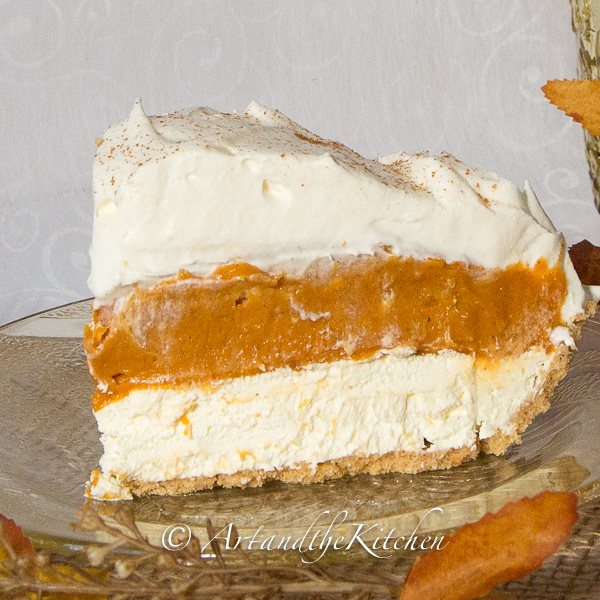 Christmas Dessert - No Bake Pumpkin Pie