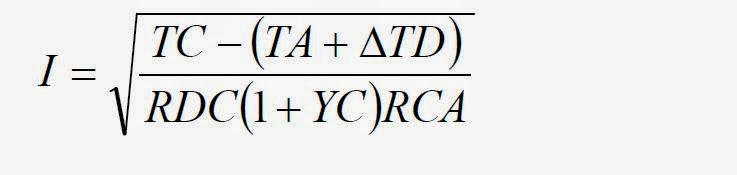 Ampacity of a conductor learning electrical engineering according to the national electrical code article 31015c the ampacities of conductors can be calculated by the following general formula greentooth Images