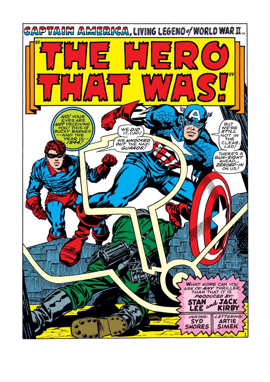 Captain America (1968) Issue #109 #23 - English 2