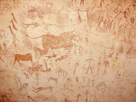 Rock Art Site Egypt