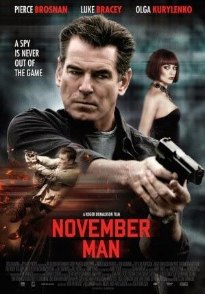 Film The November Man 2014 Bioskop