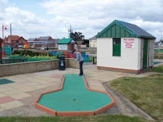 Crazy Golf in Mablethorpe