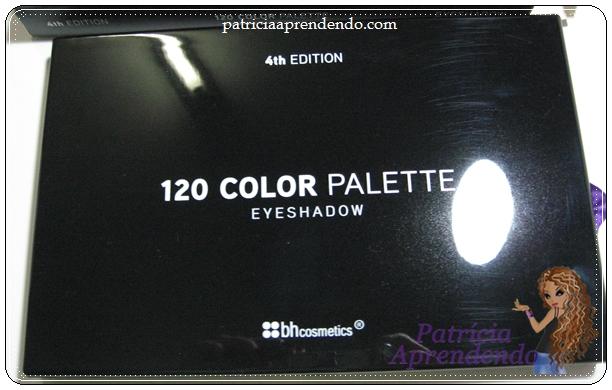 Paleta 120 cores 4ª Edição BH Cosmetics
