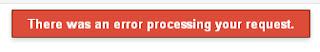 Google Add URL Gagal