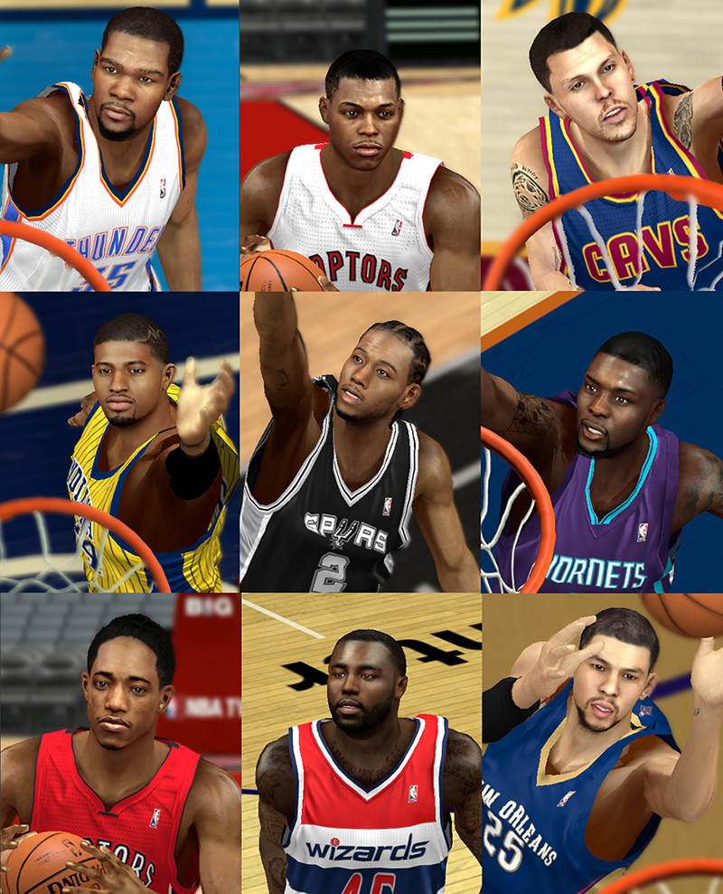 NBA 2K14 Mod Face Update Pack #10