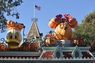 Halloween Time Disneyland decorations