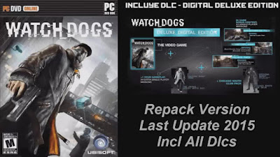 Free Download Game Watch Dogs Digital Deluxe Edition Pc Full Version – Repack Version – 12 DLC – Multi16 – Last Update 2015 – Incl All Dlcs – Multi Links – Direct Link – Torrent Link – 13.76 GB – Working 100% .