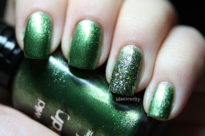 Manicurity: Rainbow Favorites - Green - Wet n Wild 'Jungle Fever'