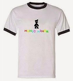 Manic Miner 80s Ringer T-shirt