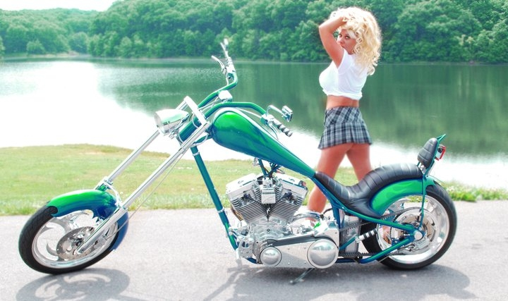 Bikers Of America, Know Your Rights!: Babe of the Week - Heather Renee