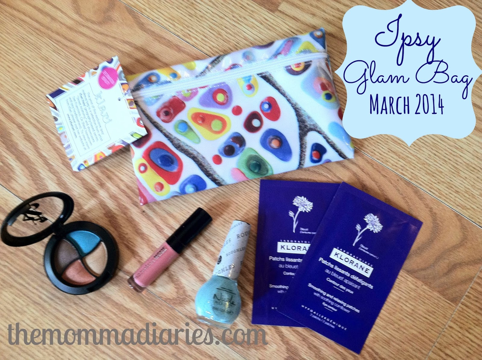 Ipsy Glam Bag March 2014