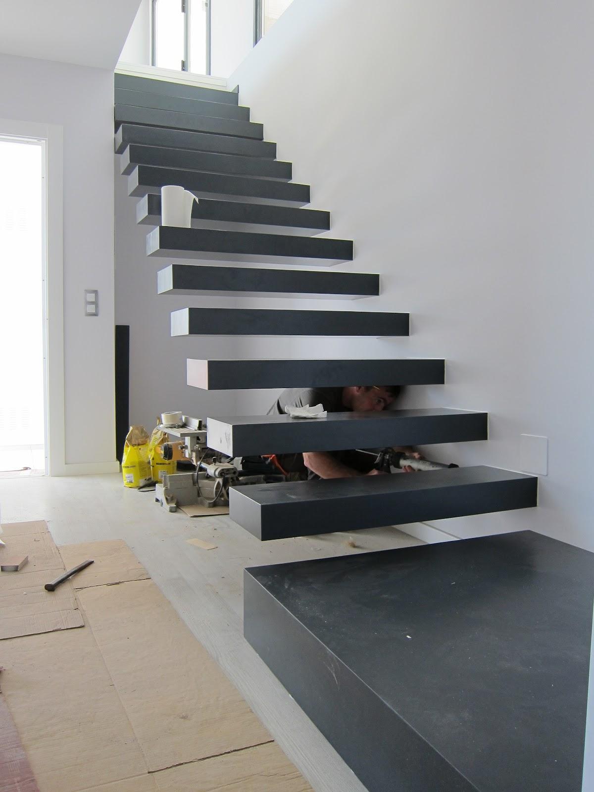 Carpinter a y toneler a escalera al aire - Escaleras al aire ...