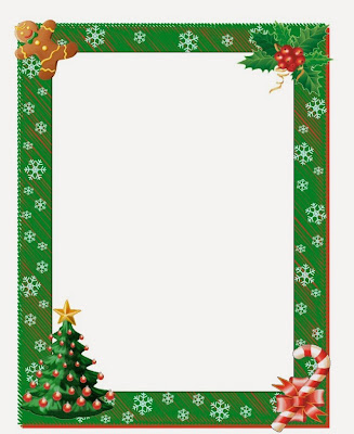 Christmas Clip Art Borders 2015 Free Download