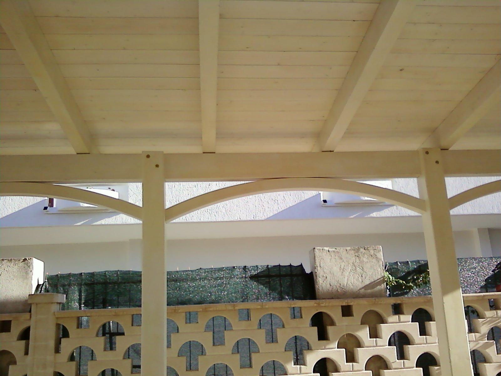 Fai da te hobby legno tettoia for Tettoie in legno usate