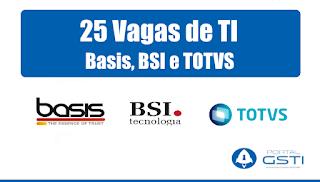Basis Tecnologia, BSI Tecnologia e TOTVS