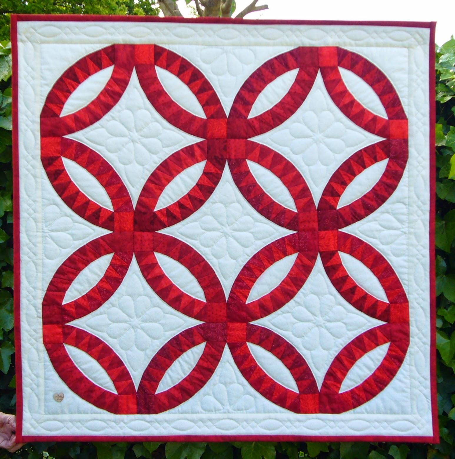 Wedding quilt voor onze dochter