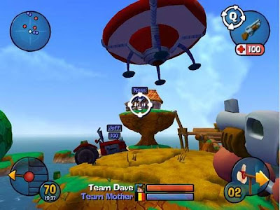 Worms 3D Screenshot