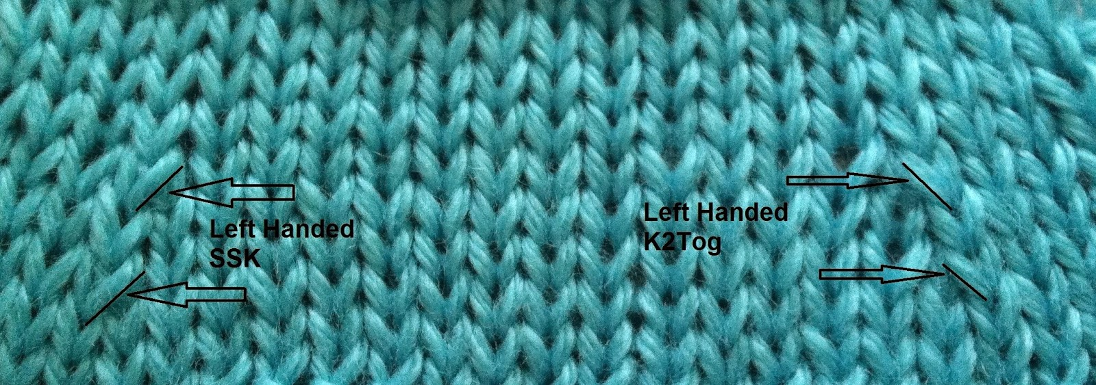Knitting Left Handed Ssk : Yarn crafts for lefties which way do they go
