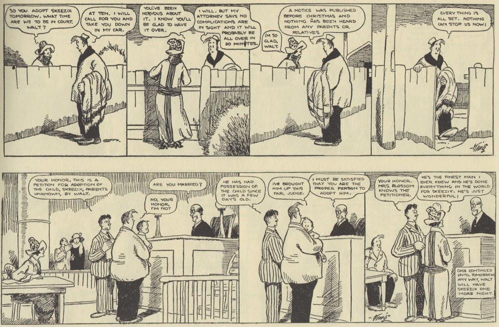 Comic strip walt skeezix