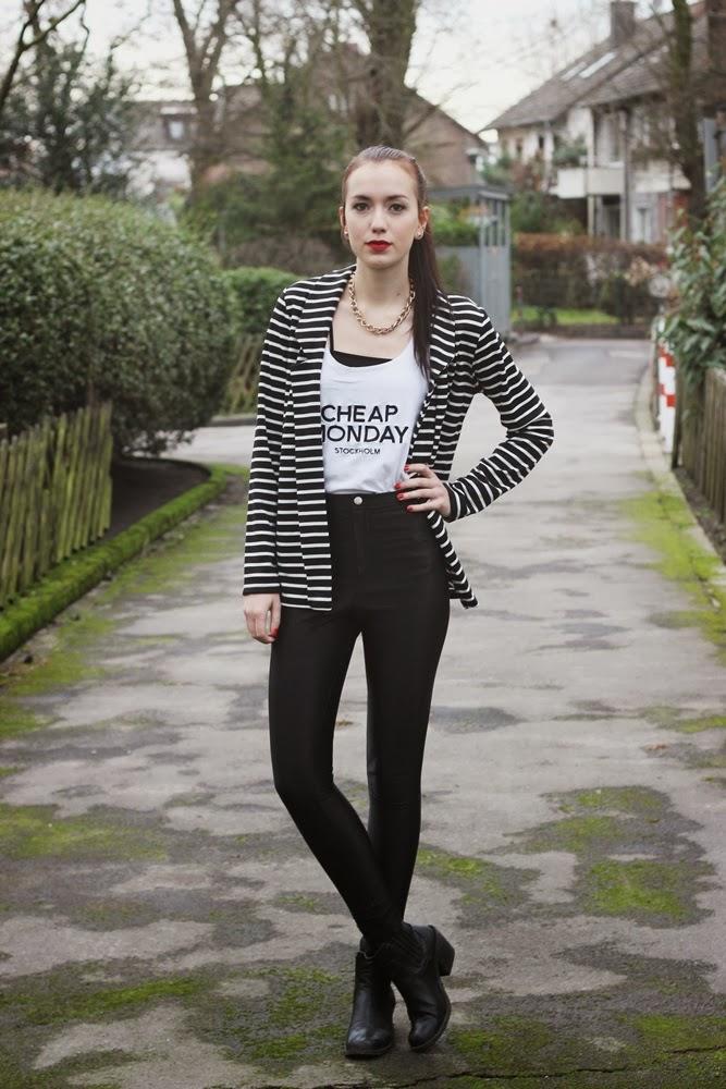 OOTD: Striped Blazer