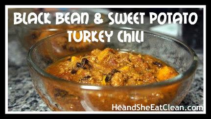 Clean Eat Recipe :: Crock Pot Black Bean and Sweet Potato Turkey Chili ...