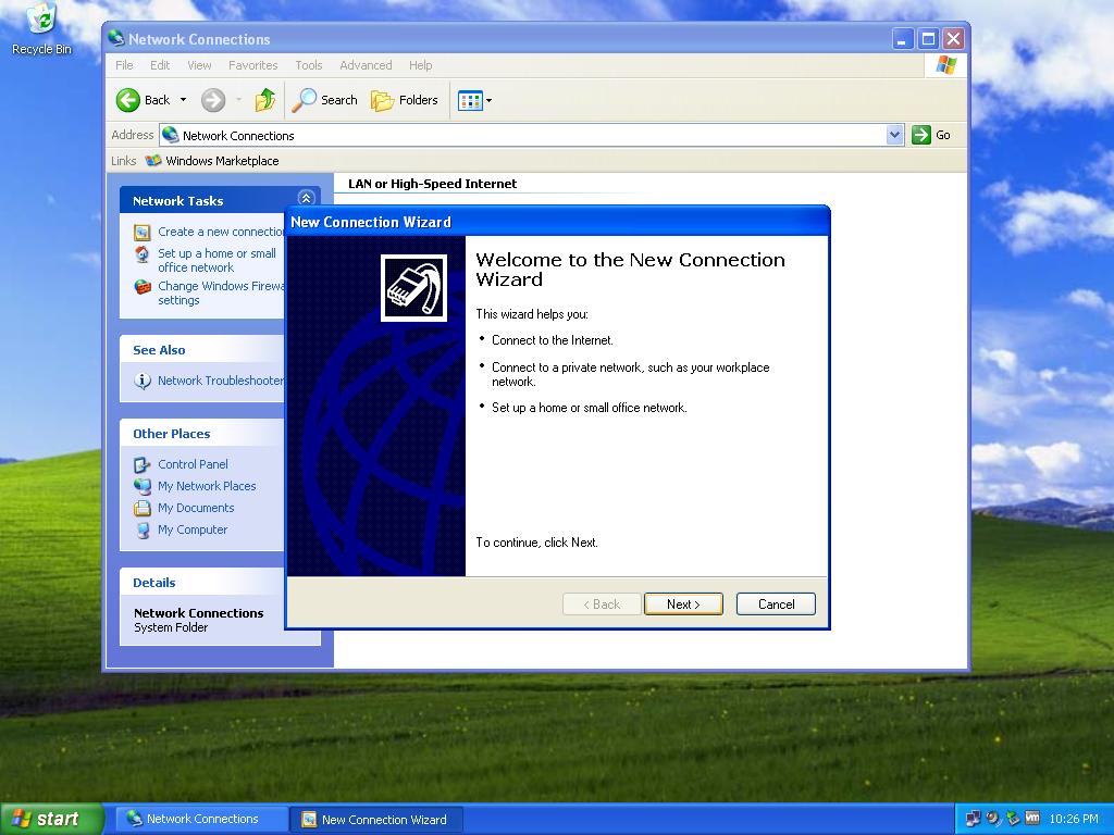 windows xp how to add the ipv4 protocol