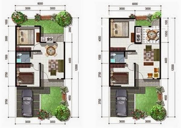 Kumpulan Desain Rumah Minimalis Type 54 Terbaru Interior Rumah