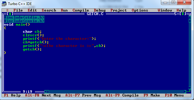 how to use printf function in c++